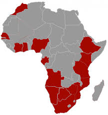 Gabon Africa Map by Our Locations Relocation Africa