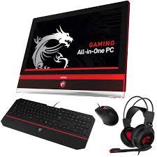 pc de bureau msi msi ag270 2ql 210eu gaming clavier ds4100 souris ds100 et micro