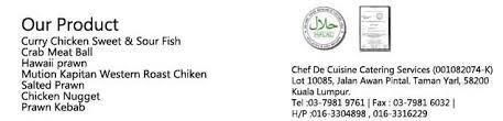 chef de cuisine catering services chef de cuisine catering services kuala lumpur sekolah menengah
