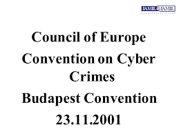 Council Of Europe Convention On Cybercrime Budapest Important Issues In Pakistan S Cyber Crime Bill