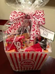 great gift idea include popcorn candy a soda u0026 a dvd or movie