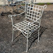 Metal Lawn Chair Vintage by Vintage All Weathered Patina Patio Dining Set Omero Home