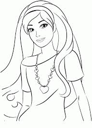 barbie coloring pages for girls to print coloring home