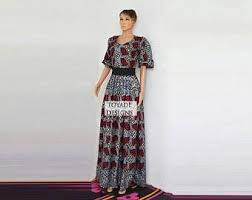 african print dress etsy