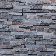 3d brick stone slate rustic age look rock project wallpaper cafe