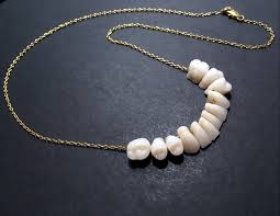 tooth necklace images Made to order human teeth tooth necklace pendant sterling jpg