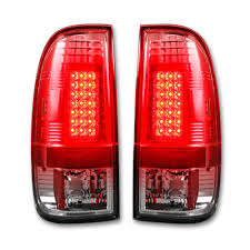 2008 ford f250 tail light bulb recon 264176cl ford superduty f250hd 350 450 550 08 16 led tail