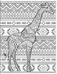 giraffe pattern notebook amazon com color my cover notebook giraffe therapeutic notebook