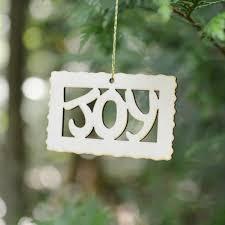 wood word ornament holidaytimeornaments