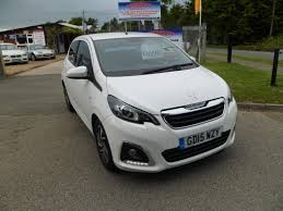 second hand peugeot 108 for sale used 2015 peugeot 108 1 2 puretech allure 5dr only 16500 miles for