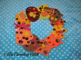 Thanksgiving Wreath Craft Paper Plate Thanksgiving Wreath Craft Parenting Patch