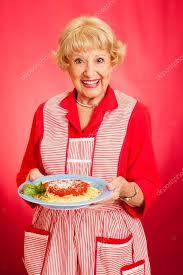 cuisine grand mere grand mère cuisine italienne spaghetti photographie lisafx 14473699