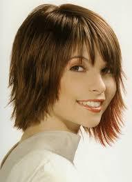 chunky short haircuts chunky layered haircuts short to medium hairstyles with bangs