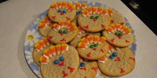 easy thanksgiving turkey cookies recipe genius kitchen