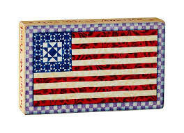 jim shore god bless america box sign clearance