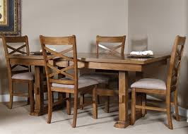 bistro trestle table 5 piece dining set in honey finish by liberty