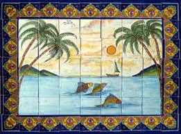 Best  Rustic Tile Murals Ideas On Pinterest Traditional Tile - Mexican backsplash tiles