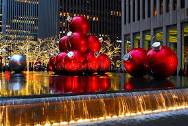 ornaments in manhattan nyc editorial photography
