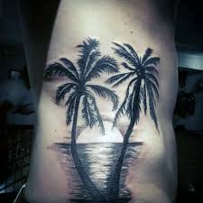 top 9 stupendous palm tree tattoos for and