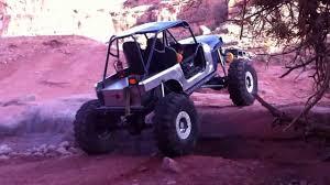 purple jeep cj another v8 cj finish cliffhanger trail in moab utah youtube