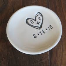 Wedding Ring Holder by Promisepottery U2014 Ring Holder Wedding Ring Dish Engagement Gift