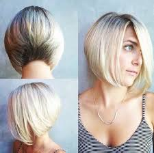 one side stack sassy bob bllack hair 20 sexy stacked haircuts for short hair you can easily copy