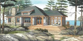 Lakeside Cottage House Plans by Cottage House Plans With Porches Normerica Custom Timber