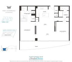 the w fort lauderdale floor plans luxury oceanfront condos in