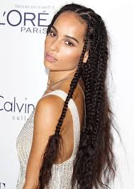 zoe kravitz with braids at the elle women in hollywood awards 2015