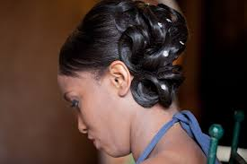 coiffure mariage africaine inspiration coiffure mariage cheveux afro co