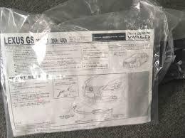 lexus gs jp spoiler wald lexus gs 250 u0026 350 f sport executive line jr parts centre