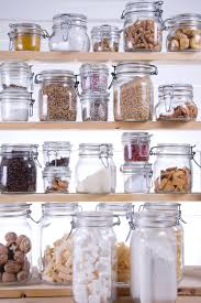 cool glass containers for kitchen home decor color trends