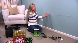 how to put christmas lights on your wall christmas light tree for your walls by tara dennis youtube
