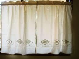 29 best crochet kitchen curtains images on pinterest cortinas