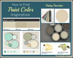 interior paint colors be the inspiration for your color scheme