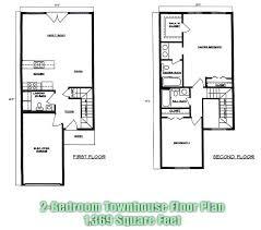 find house plans floor plan townhouse 2 bedroom townhouse floor plans town house