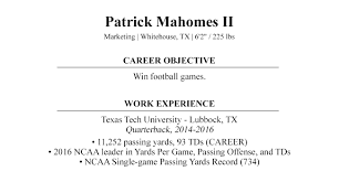 Football Cover Letter Nfl Draft Cover Letter By Patrick Mahomes Ii