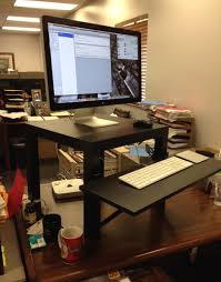Ikea Jerker Standing Desk by Furniture Catchy Rustic Standing Desk For Stylish Work Time