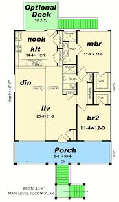 beach bungalow 68480vr architectural designs house plans