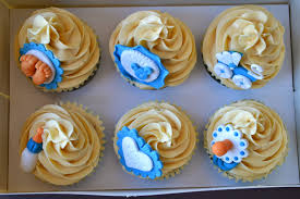 hau bai gozo cupcakes baby shower para nene