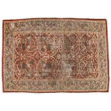 Modern Rug Runners Distressed Antique Sultanabad Rug With