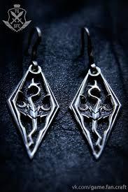 skyrim earrings skyrim earrings handmade by gamefancraft on deviantart