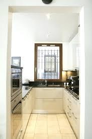 cuisine en couloir suppression des cloisons entre le couloir la cuisine et le salon