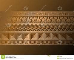 ancient ornaments stock vector image of gold icon 2490958