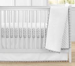 gray nursery bedding gray baby bedding potterybarnkids com