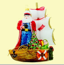 polonaise sailor santa ornament polonaise ornaments
