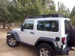cargo rack for jeep wrangler front runner krjw016t slimline 2 roof rack 2 door