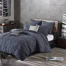 ink ivy masie navy cotton duvet cover mini set free shipping