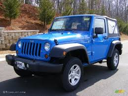 2011 Wrangler 2011 Cosmos Blue Jeep Wrangler Sport 4x4 46870076 Photo 2
