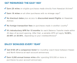 Hawaii best travel cards images Best ever offer earn up to 50 000 bonus miles with hawaiian png